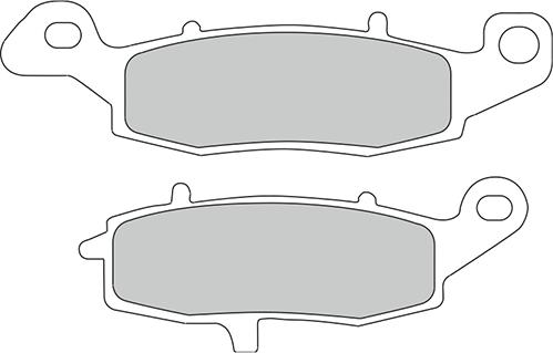 Ferodo Remblokken Ceramic FDB2049 CP1