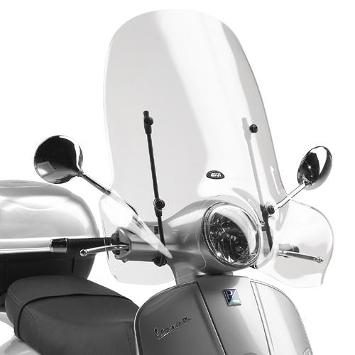 GIVI 104A Windscherm Transparant GTS 300 / Super / LX50 / (05-16)