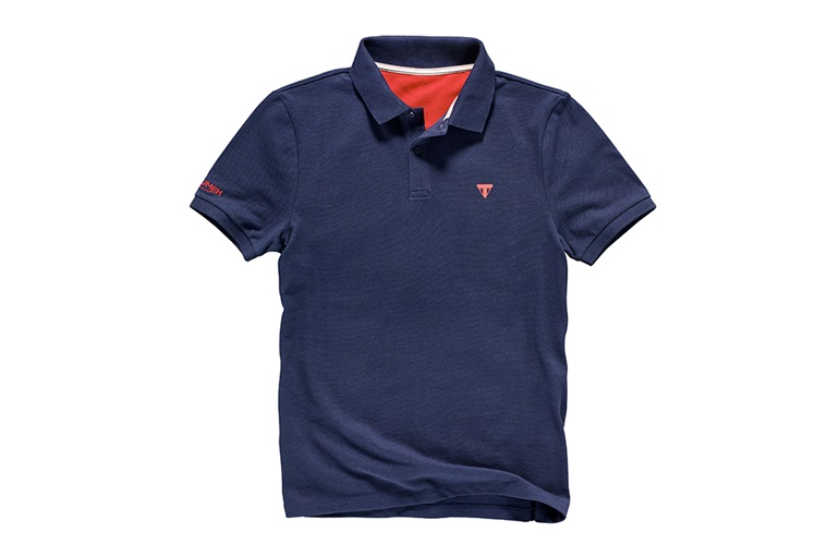 Triumph Navy Polo