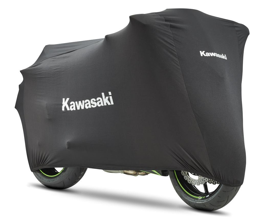 Kawasaki Motorhoes Binnen Stretch