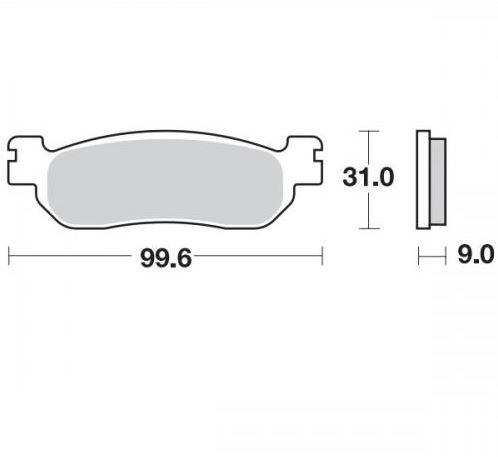 Moto Master Remblokken Ceramic 404704