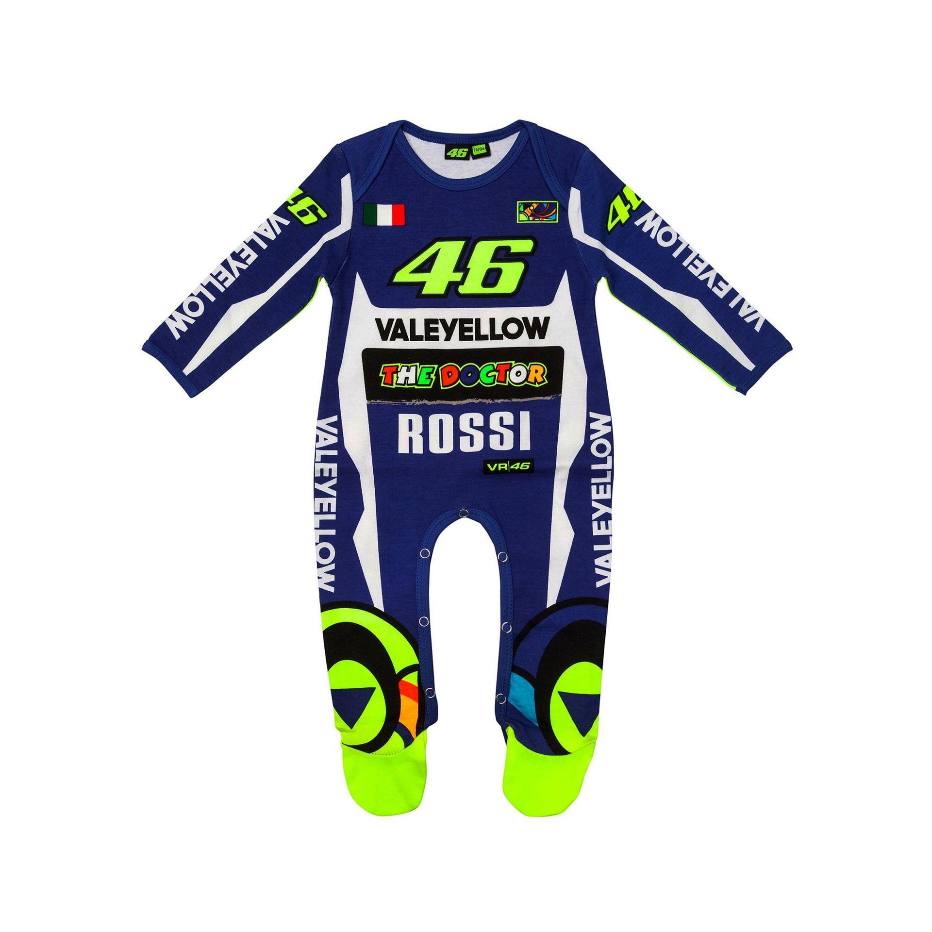 VR46 Replica Rossie Baby Overall