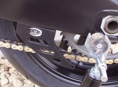 R&G CG0002B2 Kettingbeschermer Aluminium Zwart