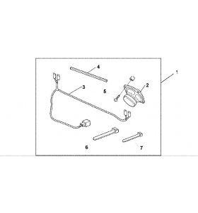 Honda Geluidspeaker Achter GL 1800 Goldwing (01-05)