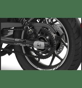 Honda Wielstickers Achter 16 Inch Mat Axis Gray Metallic NH-303M CMX1100 (21-)