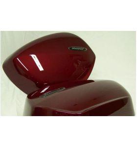 Honda Grote kofferdeksels Set Bloom Red Metallic  NT 700 V Deauville (07-10)