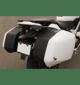 Honda Zijkoffer Set Pearl Glare White VFR 800 F/X Crossrunner (14-)