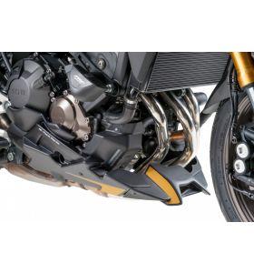 Puig Motorspoiler S-line Mat Zwart Yamaha MT-09 / Tracer 900 (Originele Uitlaat)