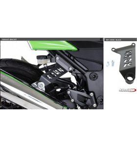 Puig Uitlaatsteun Zwart Kawasaki Ninja 250R
