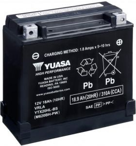 Yuasa Accu YTX20HL-BS High Performance