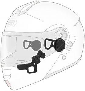 Sena 10U Bluetooth Headset, Shoei Neotec