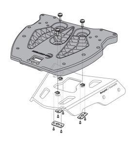 SW-Motech Adapterplaat Quick-Lock Universeel