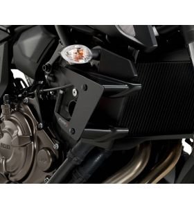 Puig Downforce Spoilers/Winglets Zwart Yamaha MT-07 (18-)