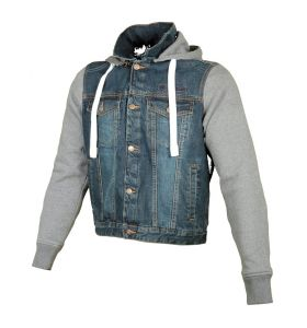 Booster Hoodie Denim Men
