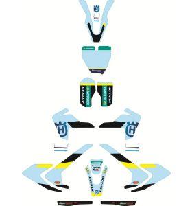 Husqvarna Factory Graphics Kit