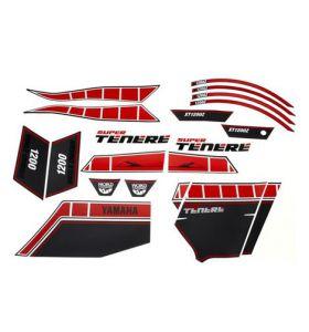 Yamaha Stickerset Worldcrosser Rood XT 1200 Z(E) Super Tenere (10-17)
