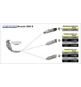 Arrow Link Pipe 71450MI