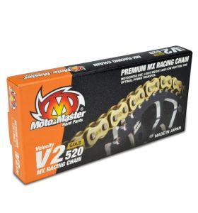 Moto-Master V2 Ketting Non O-Ring 120 Goud