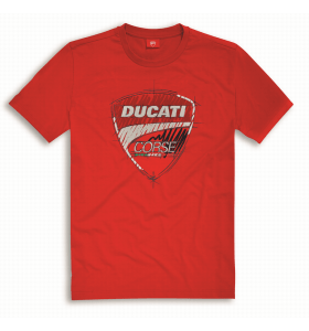 Ducati Corse T-Shirt Rood