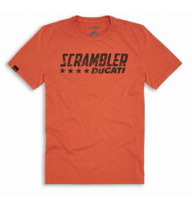 Ducati Orange Flip SCR T-shirt