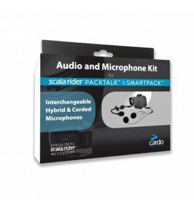 Cardo Audio/Microfoon Set Packtalk/Smartpack