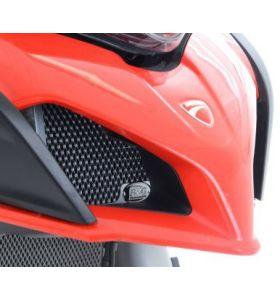 R&G OCG0026RE Oliekoelerbeschermer Rood Ducati Multistrada 950/1200/1260 (15-)