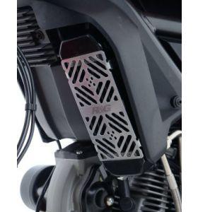 R&G OCG0022SI Oliekoelerbeschermer Mat Aluminium Ducati Scrambler 800 (15-)