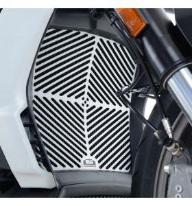 R&G RAD0201SI Radiateurbeschermer Mat aluminium Ducati XDiavel (S) (16-)