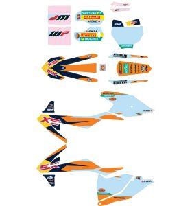 KTM Factory Stickerset