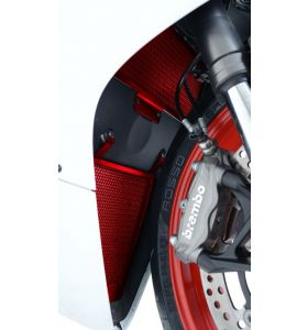 R&G RAD0117RE Radiateurbeschermer Rood Ducati 1199/1299 Panigale (R/S) (12-17)