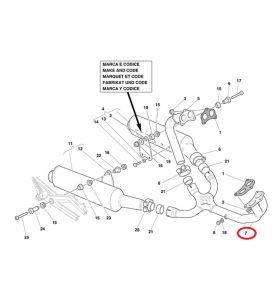 Ducati Horizontal Exhaust Pipe