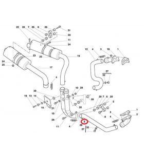 Ducati Vertical Exhaust Pipe