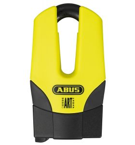 ABUS Schijfremslot Quick Mini Pro Yellow