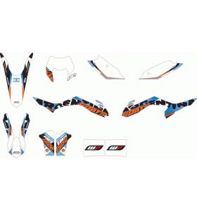 KTM Argentina Six Days Stickerset