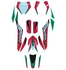 KTM Portugal Six Days Stickerset
