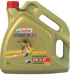 Castrol Power RS 4T 20W-50 4LTR