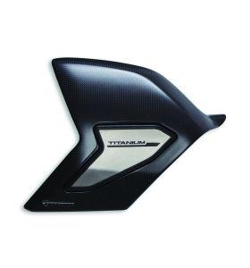 Ducati Achterbrug Cover Carbon/Titanium Panigale V4