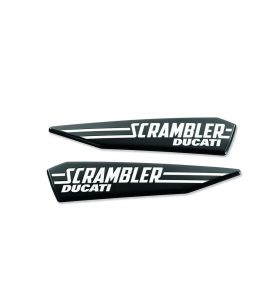 Ducati Set Logos Van Scrambler Icon