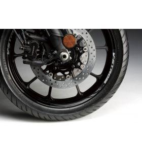 Suzuki Velgsticker 19 Inch Voorwiel Grijs