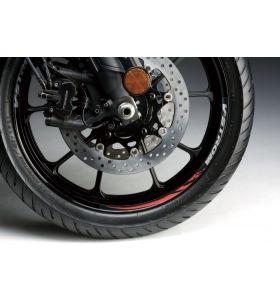 Suzuki Velgsticker 19 Inch Voorwiel Rood