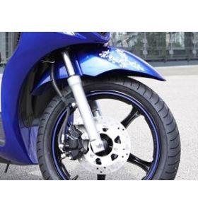 Suzuki Wieldecoratie Wit Sixteen 150 (08-13)