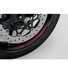 Suzuki Wielstriping Hayabusa Logo Rood