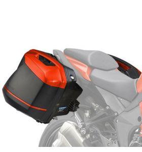 Kawasaki Zijkoffer Cover Set Oranje Versys 1000 / Z 1000 SX