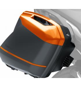 Kawasaki Zijkoffer Cover Candy Metal Furnace Orange (62j)
