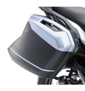 Kawasaki Zijkoffer Deco Strepen Wit Versys 1000/650