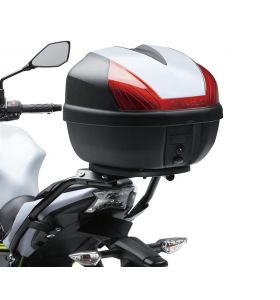 Kawasaki  Topkoffer Cover Wit