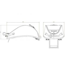 Kawasaki Tanktas Bevestiging Z 900