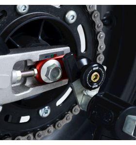 R&G CR0059RE Cotton Reels Bobbins Offset Rood Honda CBR250RR 17-