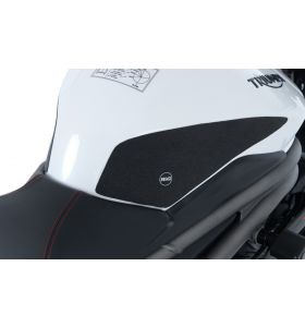 R&G EZRG817BL Eazi-Grip Sticker Set Zwart Triumph SPEED TRIPLE S 18- / RS 18- 2-GRIP KIT
