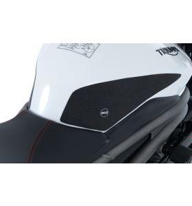 R&G EZRG817CL Eazi-Grip Sticker Set Transparant Triumph SPEED TRIPLE S 18- / RS 18- 2-GRIP KIT
